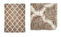 "Global Rug Designs Barnes Bar04 Beige 3'11"" x 5'10"" Area Rug"