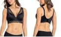 Leonisa Soft Lightly-Lined Lace Underwire Bra- Deep Coverage Bra