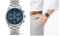 Longines Men's Swiss Automatic Chronograph Master Collection Stainless Steel Bracelet Watch 44mm