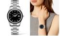 Longines Women's Swiss Conquest Classic Diamond (3/8 ct. t.w.) Ceramic & Stainless Steel Bracelet Watch 36mm