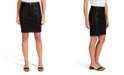 Jen7 by 7 For All Mankind JEN7 Coated Denim Pencil Skirt