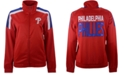 G-III Sports Women's Philadelphia Phillies Track Star Track Jacket