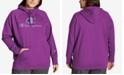 Champion Plus Size Powerblend Graphic Hooded Sweatshirt