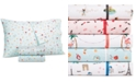Martha Stewart Collection Novelty Print Queen 4-Pc. Sheet Set, 250 Thread Count 100% Cotton, Created for Macy's