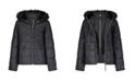 London Fog Big Girls Cire Fashion Heavyweight Coat