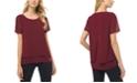 Michael Kors Plus Size Layered-Look Split-Back Top