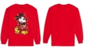Love Tribe Trendy Plus Size Mickey Mouse Christmas Top