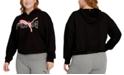 Puma Plus Size Modern Sports Hooded Sweatshirt
