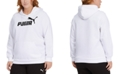 Puma Plus Size Fleece Logo Hooded Sweatshirt
