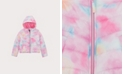S Rothschild & CO Big Girls Tie Dye Puffer Jacket