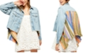 Free People In the Sun Mixed-Media Jacket