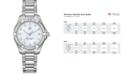 TAG Heuer Women's Swiss Aquaracer Diamond (9/20 ct. t.w) Stainless Steel Bracelet Watch 32mm