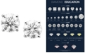Macy's Diamond Stud Earrings in 14k Gold or White Gold