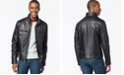 Michael Kors Michael Kors Men's Hipster Leather Jacket