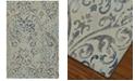 "Dalyn Mosaic Filigree Linen 3'3"" x 5'1"" Area Rug"