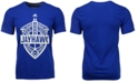 adidas Men's Kansas Jayhawks Landmark Crest Performance T-Shirt