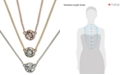 Givenchy Crystal Pendant Necklaces