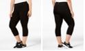 Ideology Plus Size Capri Leggings, Created for Macy's