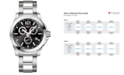 Longines Men's Swiss Chronograph Conquest Stainless Steel Bracelet Watch 44mm L38004566