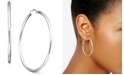 "Giani Bernini Large Sterling Silver Hoop Earrings, 1.75"""