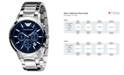 Emporio Armani Watch, Men's Stainless Steel Bracelet 43mm AR2448