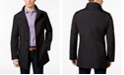 Calvin Klein Men's Slim Fit Black Solid Raincoat