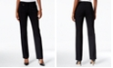 JM Collection Petite And Petite Short Tummy-Control Curvy Fit Pants, Created for Macy's