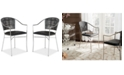 Safavieh Honner Set of 2 Arm Dining Chairs