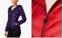 Michael Kors Petite Quilted Packable Down Coat