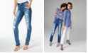 INC International Concepts I.N.C. INCEssentials Curvy-Fit Destroyed Skinny Jeans, Created for Macy's