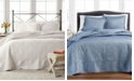 Martha Stewart Collection CLOSEOUT! Lush Embroidery Bedspread & Sham Collection, Created for Macy's