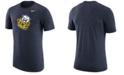 Nike Men's Michigan Wolverines Vault Logo Tri-Blend T-Shirt