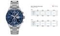 TAG Heuer Men's Swiss Automatic Chronograph Carrera Steel Bracelet Watch 43mm