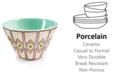 Coton Colors by Laura Johnson Indigo Retro Trim Mod Appetizer Bowl