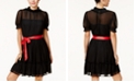 Disney Princess Snow White Juniors' Mesh Illusion Dress, Created For Macy's