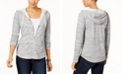 Style & Co Plus Size Hooded Jacket, Created for Macy's
