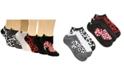 Disney Women's 6-Pk. Minnie Mouse Cheetah No-Show Socks