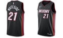 Nike Men's Hassan Whiteside Miami Heat Icon Swingman Jersey