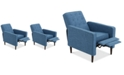 Noble House Wadena Recliner Club Chair (Set Of 2)