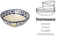 Crafted by Wainwright Lenox-Wainwright Pompeii Blu Land Small Serving Bowl, Created for Macy's