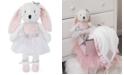 NoJo Ballerina Bows Plush Bunny