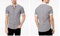 Michael Kors Men's Stretch Gingham Check Shirt