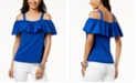 INC International Concepts INC Ruffled Off-The-Shoulder Top, Created for Macy's