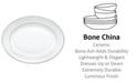 Lenox Opal Innocence Stripe Medium Oval Platter '13