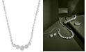 "EFFY Collection Pavé Classica by EFFY® Diamond Bezel 18"" Collar Necklace (9/10 ct. t.w.)"