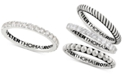 Peter Thomas Roth Peter Thomas White Topaz Stacking Band (3/4 ct. t.w.) in Sterling Silver