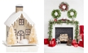 Martha Stewart Collection Snow Roof Paper House, Created for Macy's