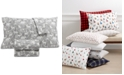 Martha Stewart Collection Printed Cotton Flannel Standard Pillowcase, Created for Macy's