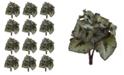 Nearly Natural 12-Pc. Rex Begonia Artificial Stem Set