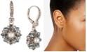 Marchesa Gold-Tone Crystal, Stone & Imitation Pearl Drop Earrings
